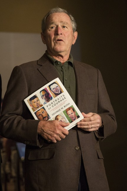 USA: Bilder von Veteranen des Krieges, den er befahl: Mit seinen Gemälden erregte der nun 71-jährige George W. Bush Aufsehen.