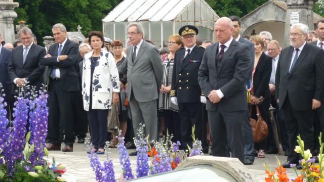 Stadtrat Wolfgang Moll in Oradour