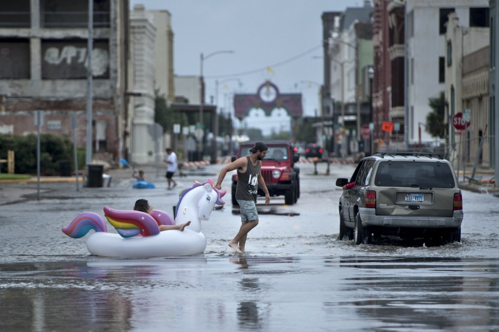 Hurrican Harvey aftermath in Texas  August 26, 2017.