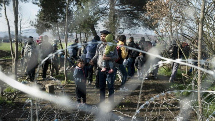 Flüchtlinge: Dem Menschenschicksal Migration Zäune und Mauern entgegenzusetzen ist aussichtslos.