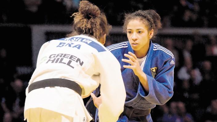 19 02 2016 Mitsubishi Electric Hall Duesseldorf Judo Grand Prix Düsseldorf Duesseldorf 2016 Vo