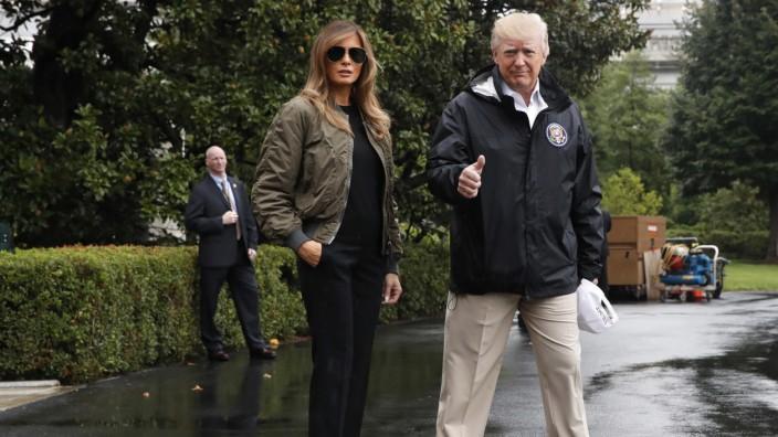Trump reist in Krisenregion von Texas und Louisiana