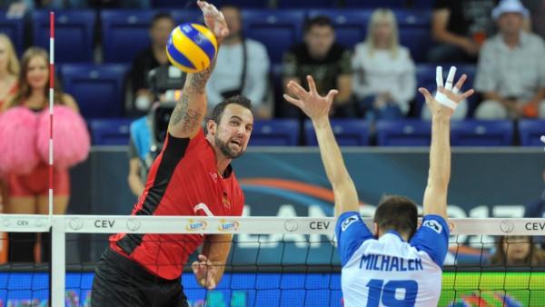 Volleyball-EM: Deutschland - Tschechien