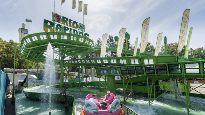 Rio Rapidos, Wildwasserbahn