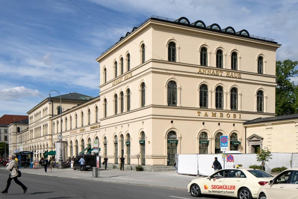 Architektur Hofgarten Lehel