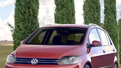 Bologna Motorshow: VW Golf Plus neu: Neue Front auch beim Golf Plus