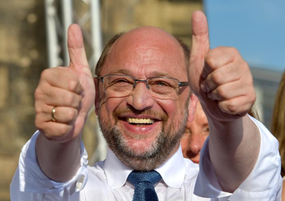 Wahlkampf der SPD - Martin Schulz