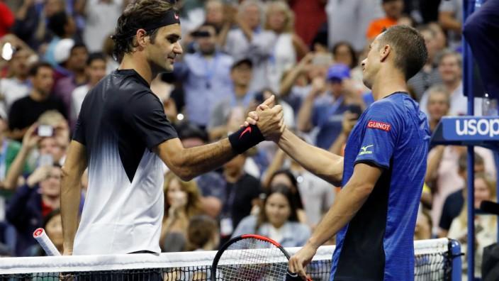 Roger Federer und Philipp Kohlschreiber