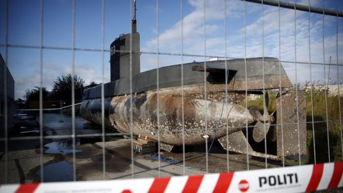 U-Bootes des dänischen Ingenieurs Madsen