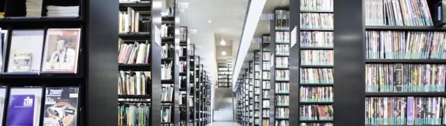 Bibliothek der Hochschule für Film und Fernsehen (HFF) in München