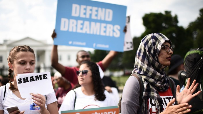 Demonstrations in support of the DACA Program