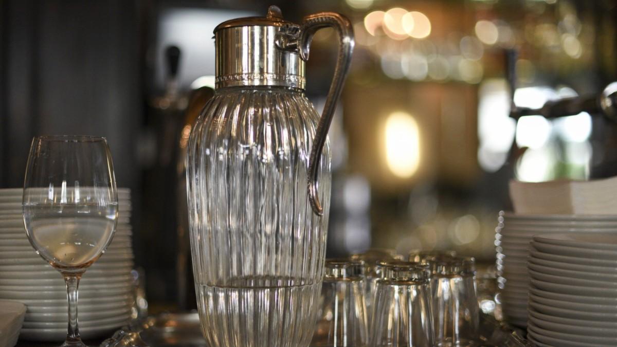 leitungswasser im restaurant