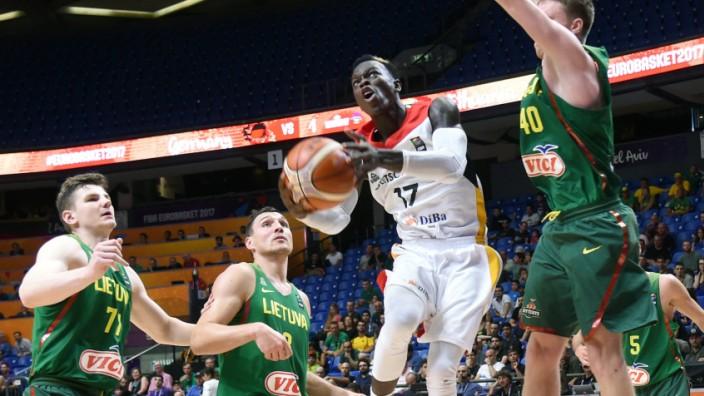EuroBasket Litauen - Deutschland