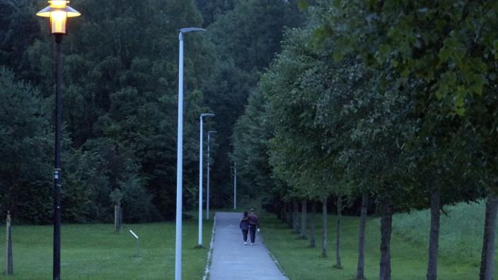 Eichenau: Inbetriebnahme LED-Strassenbeleuchtung / Donauschwabenweg