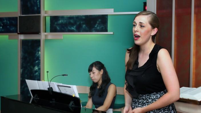 Liederabend im Krankenhaus; Kultur im Klinikum