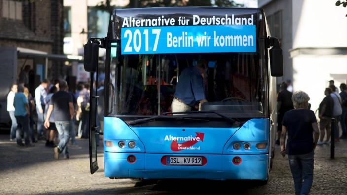 AfD Wahlkampf Brandenburg DEU Deutschland Germany Brandenburg an der Havel 29 08 2017 Anhaneger