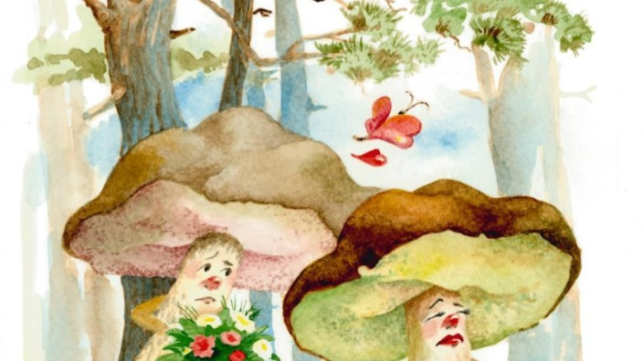 "Evelyn Filep aus Egmating, ""Das Konzert im Wald"", Kinderbuch über Pilze"
