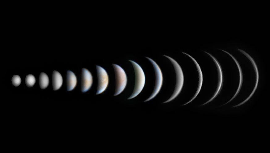 Venus Phase Evolution © Roger Hutchinson