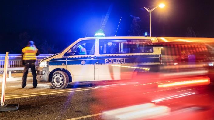 Freilassing 23 10 2015 Grenzuebergang Freilassing Salzburg GER Fluechtlingskrise in der EU im; Grenzübergang