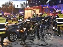 """Prozess zum Unfall in Trudering: """"Ich hatte die Flammen im Gesicht"""""""