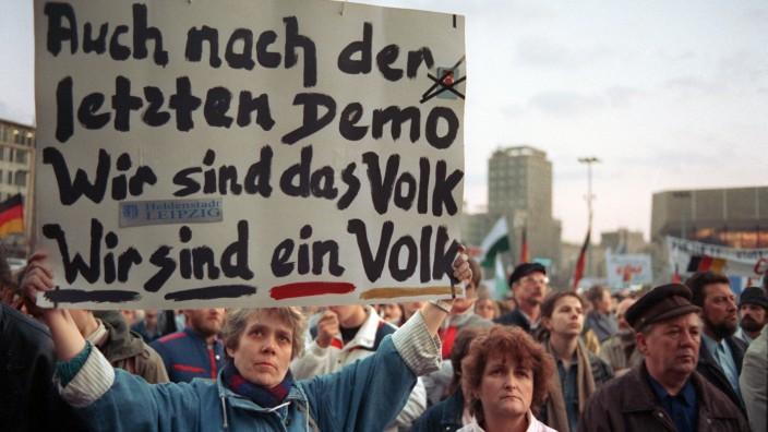"""Leipzig will Revolutionsruf ´Wir sind das Volk"""" weiter schützen; Leipzig will Revolutionsruf ´Wir sind das Volk"""" weiter schützen"""