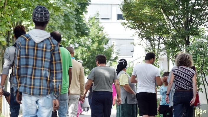 Landeserstaufnahme für Asylbewerber