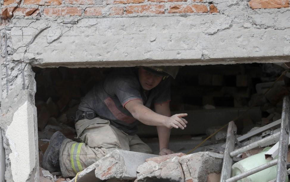 Nach Erdbeben in Mexiko