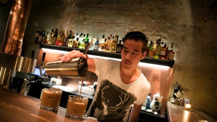 Bar für Happy Hour: Banh mi und Beer im Westend, Parkstraße 30