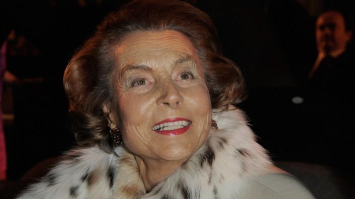 FILE LOreal Heir Liliane Bettencourt,Dies Aged 94