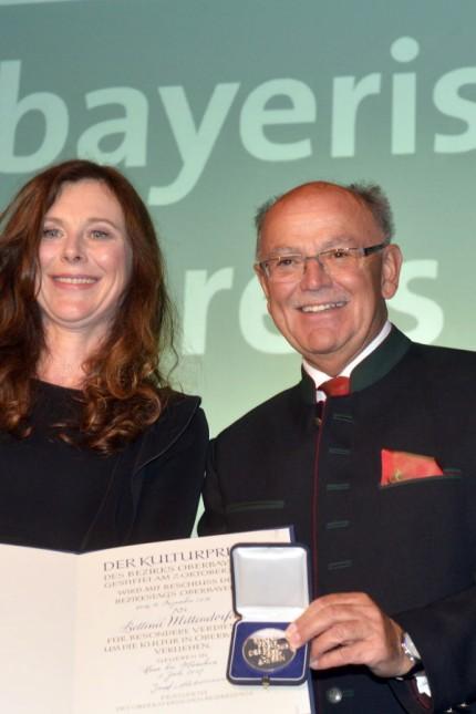 Oberbayerischer Kulturpreis für Bettina Mittendorfer, 2017