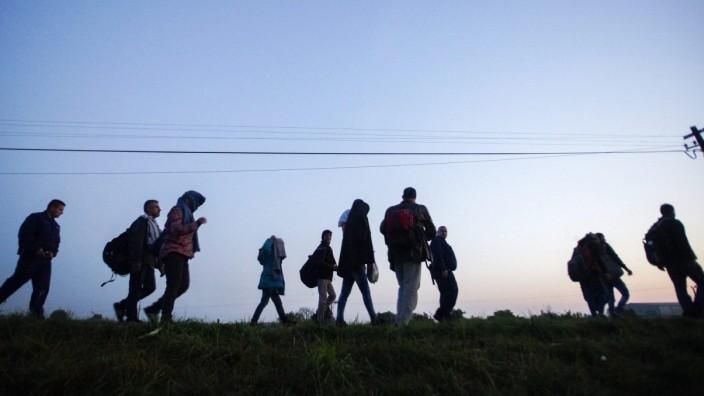 Flüchtlinge in Ungarn 2015
