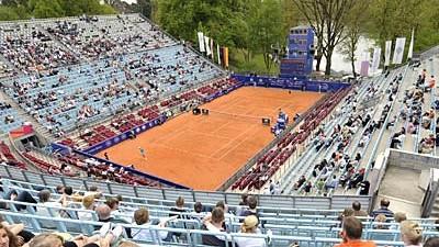 Deutscher Tennis Bund: Das Steffi-Graf-Stadion am Berliner Grunewald: 2009 wohl kein Ort für Spitzentennis.