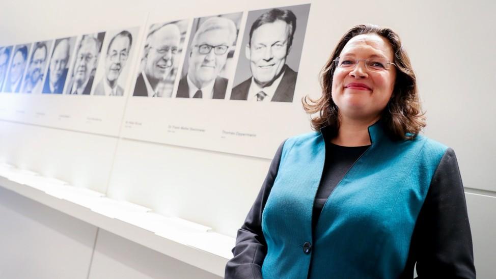 Sitzung SPD-Bundestagsfraktion