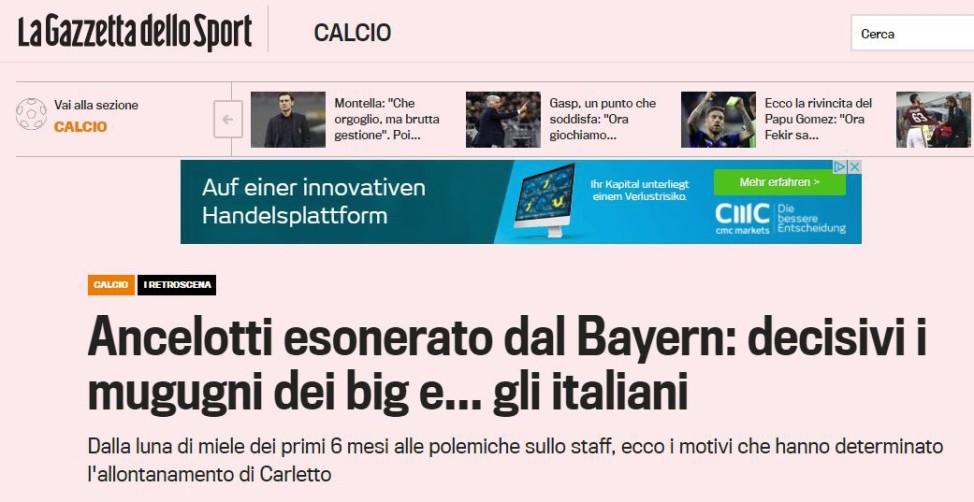 Pressestimmen zum Ancelotti-Aus