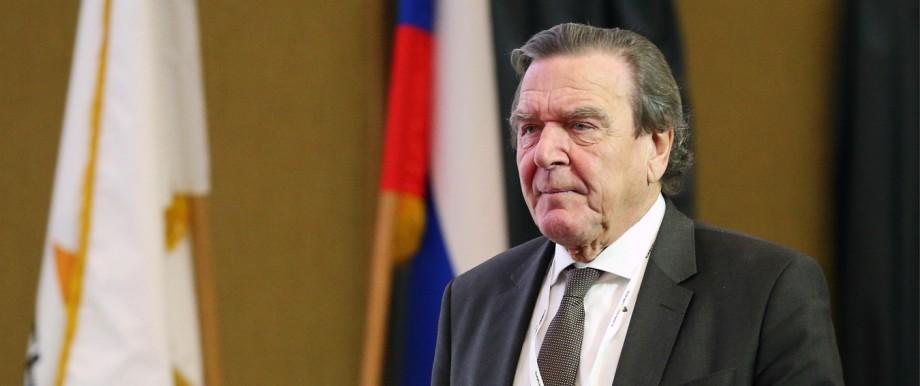 Gerhard Schröder in Russland