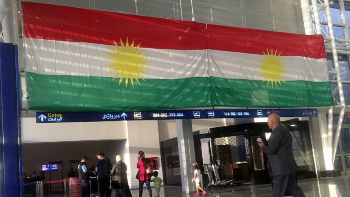 Flughafen in Erbil