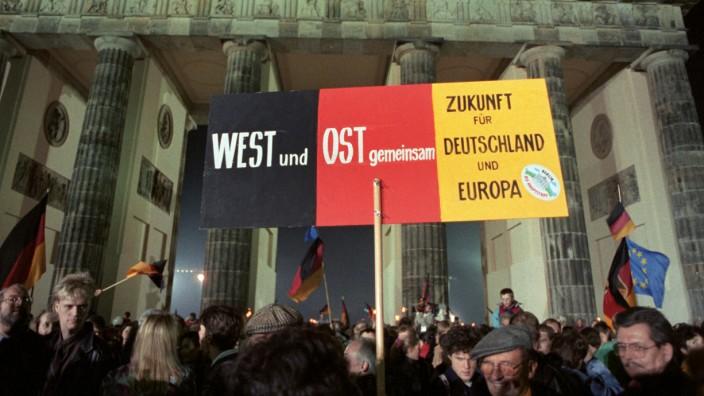Wiedervereinigung, Tag der deutschen Einheit