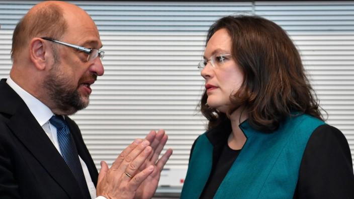 Leserdiskussion: Die SPD muss nun alle verfügbaren Kräfte auf die nächste Bundestagswahl 2021 richten, schreibt Hickmann.
