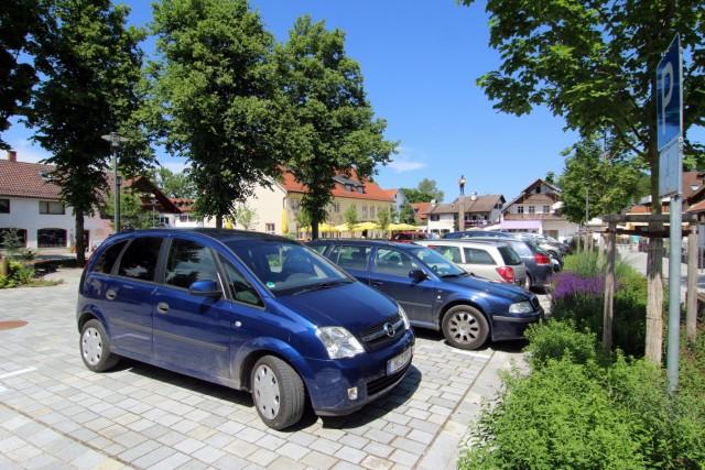 Zu viele Autos auf dem Untermüllerplatz