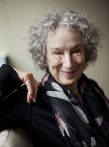 Schriftstellerin Margaret Atwood 2014 in Toronto