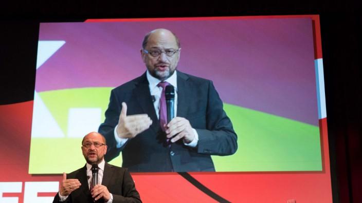 Martin Schulz unterstützt SPD-Wahlkampf in Niedersachsen