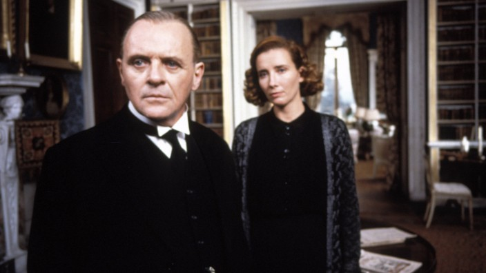 Film Still from The Remains of the Day Anthony Hopkins Emma Thompson © 1993 Columbia Pictures Photo