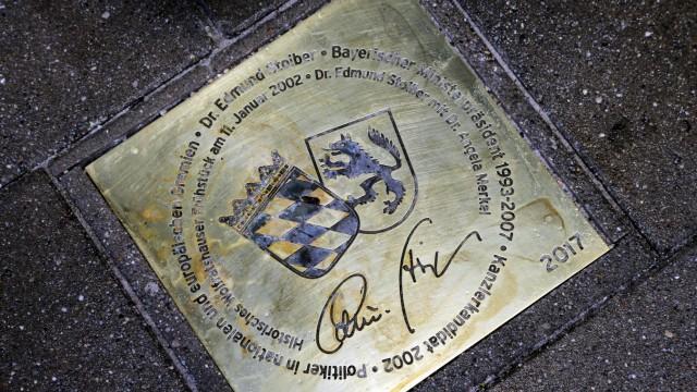 Edmund Stoiber Walk of Fame
