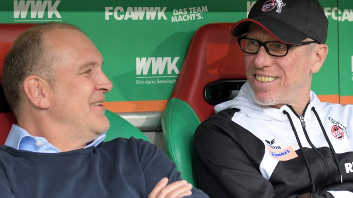 1. FC Köln - Schmadtke und Stöger