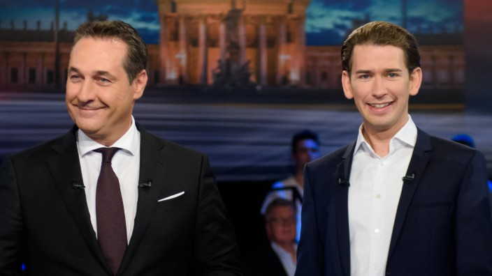 Lead Candidates Meet For TV Debate Ahead Of Austrian Legislative Elections