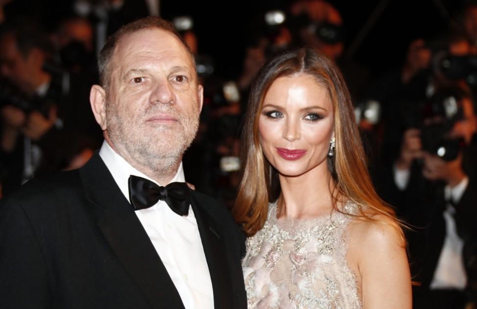 Harvey Weinstein und Georgina Chapman
