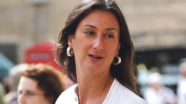 Daphne Galizia Foto: Malta Times/Borg