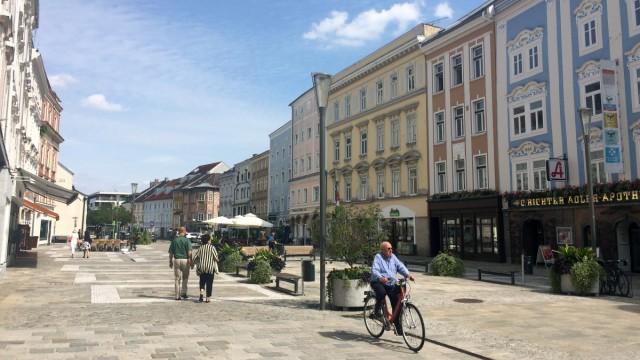 Österreich nach der Wahl: Wels lädt mit Häusern aus der Barockzeit zum Flanieren ein - aber die Stadt ist kein Idyll.