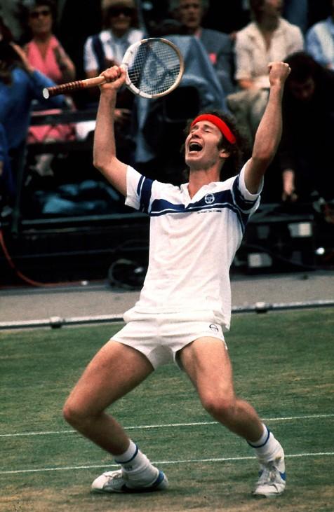 McENROE John USA Wimbledon Sieger 1981 über Bjorn BORG All England Wimbledon Tennis Championships 1; björn borg john mcenroe