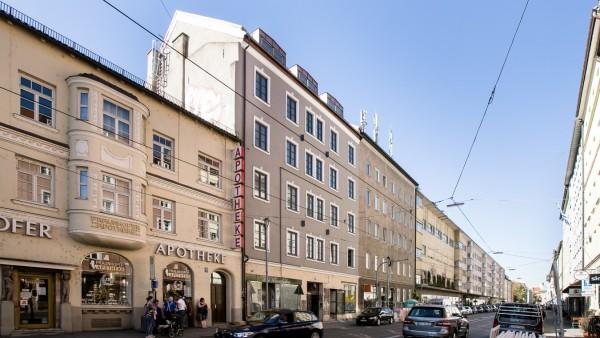 Gebäude Fraunhoferstraße 36, Glockenbachviertel